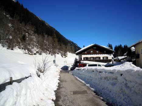 Zirmaiderhof im Winter